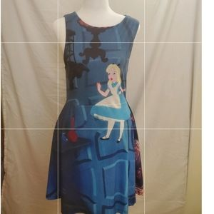 Alice in Wonderland Disney Dress